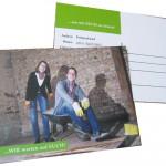 Bsp. Postkarte als Einladungskarte *zweckentfremdet*