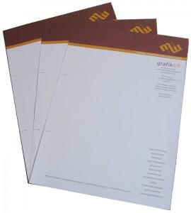 Briefbogen in der Gesamtansicht