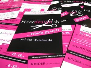 Handzettel / Wurfzettel DIN A6