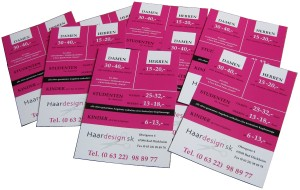 Printprodukte Werbeaktion DIN A6 Flyer