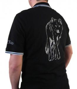 Poloshirt Aufdruck (Rueckenansicht)