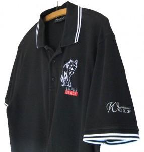 Poloshirt mit Ärmelaufdruck und Bruststick